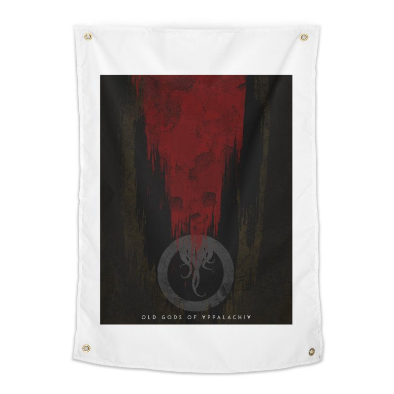 Old Gods of Appalachia: Blood and Darkness Home Tapestry by OLD GODS OF APPALACHIA