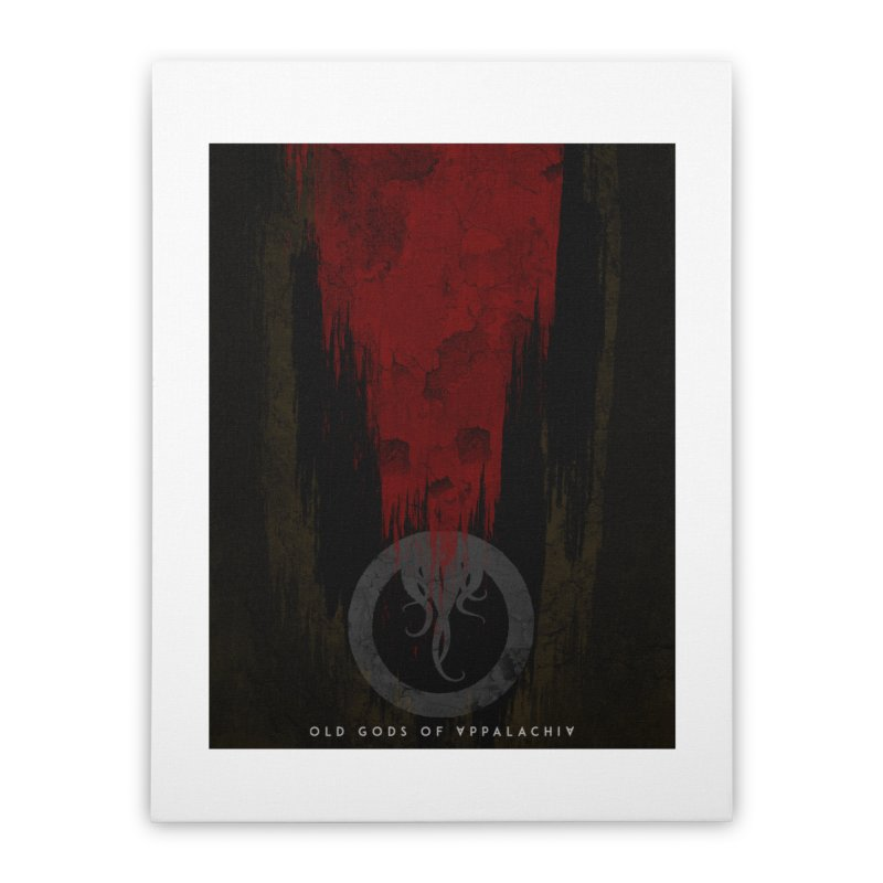 Old Gods of Appalachia: Blood and Darkness Home Stretched Canvas by OLD GODS OF APPALACHIA