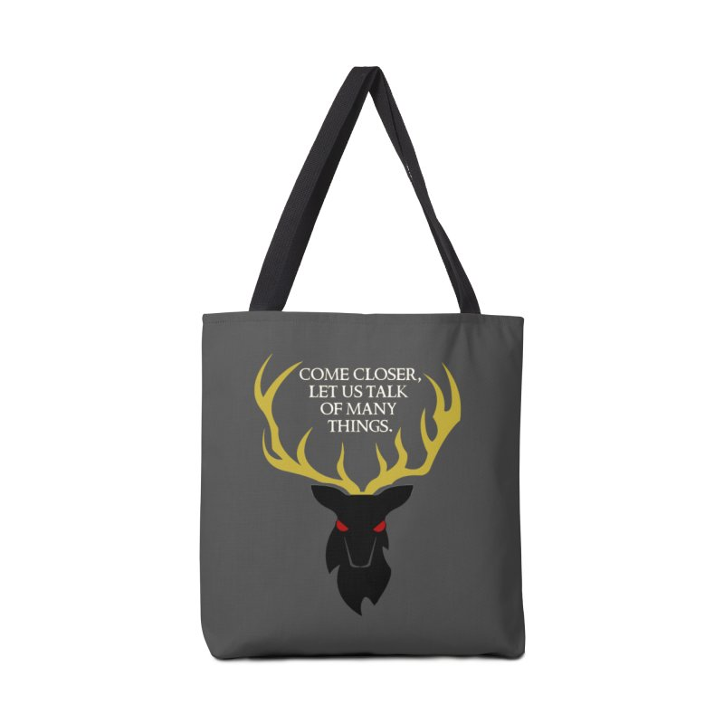 Old Gods of Appalachia: The Black Stag Accessories Tote Bag Bag by OLD GODS OF APPALACHIA