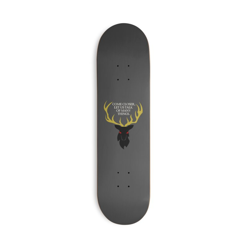 Old Gods of Appalachia: The Black Stag Accessories Deck Only Skateboard by OLD GODS OF APPALACHIA