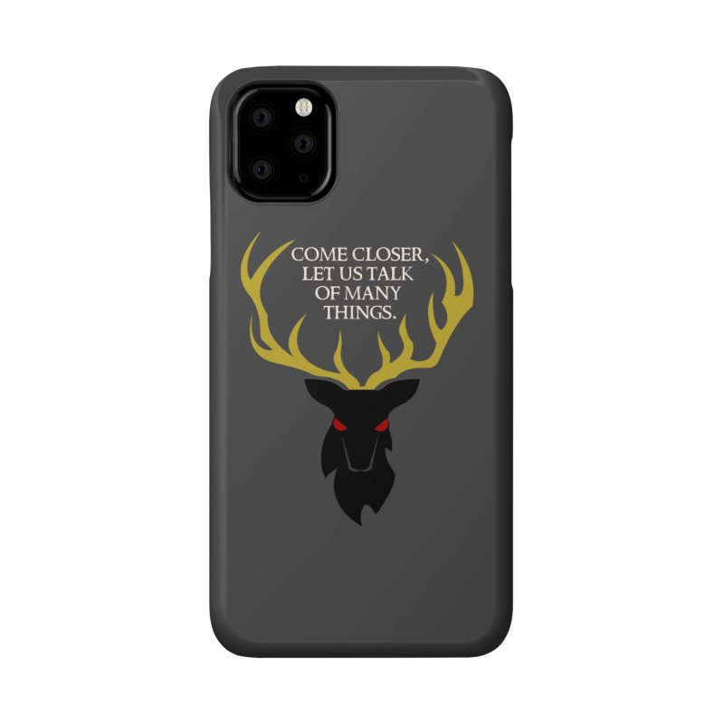 Old Gods of Appalachia: The Black Stag Accessories Phone Case by OLD GODS OF APPALACHIA