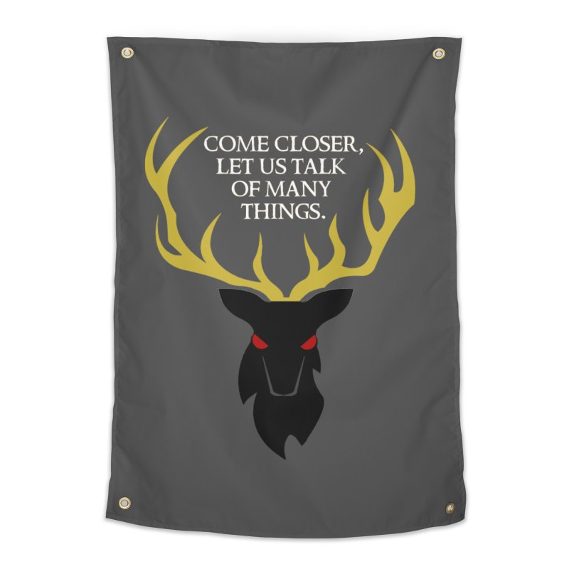 Old Gods of Appalachia: The Black Stag Home Tapestry by OLD GODS OF APPALACHIA