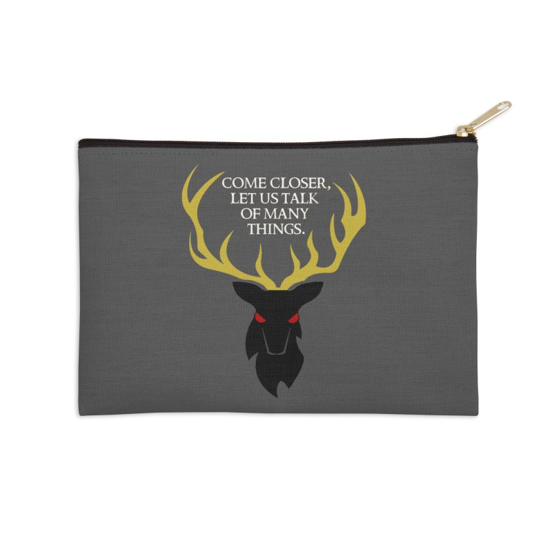 Old Gods of Appalachia: The Black Stag Accessories Zip Pouch by OLD GODS OF APPALACHIA