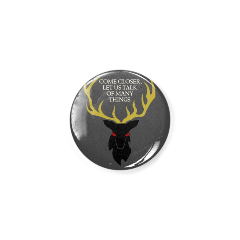 Old Gods of Appalachia: The Black Stag Accessories Button by OLD GODS OF APPALACHIA