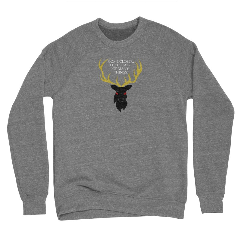 Old Gods of Appalachia: The Black Stag Men's Sponge Fleece Sweatshirt by OLD GODS OF APPALACHIA