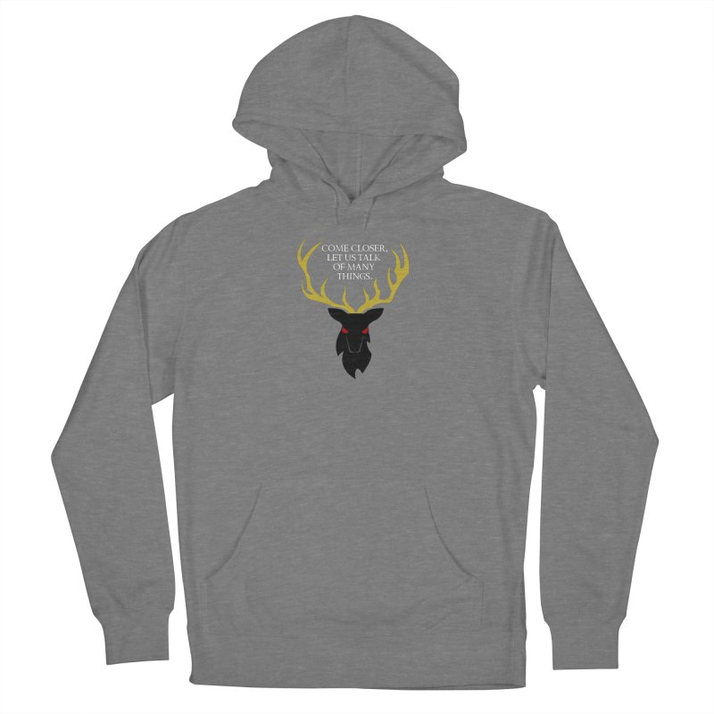 Old Gods of Appalachia: The Black Stag Women's French Terry Pullover Hoody by OLD GODS OF APPALACHIA