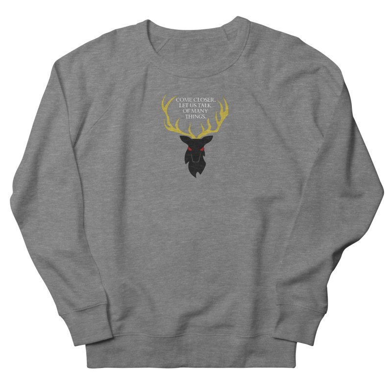 Old Gods of Appalachia: The Black Stag Women's French Terry Sweatshirt by OLD GODS OF APPALACHIA