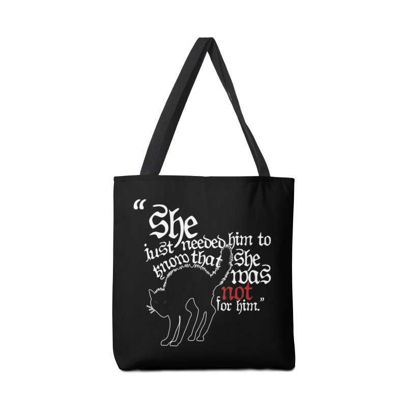 Old Gods of Appalachia: Not For Him Accessories Tote Bag Bag by OLD GODS OF APPALACHIA