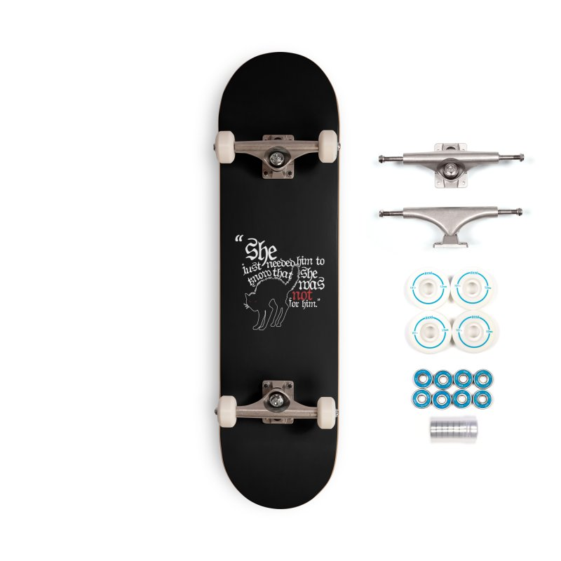 Old Gods of Appalachia: Not For Him Accessories Complete - Basic Skateboard by OLD GODS OF APPALACHIA