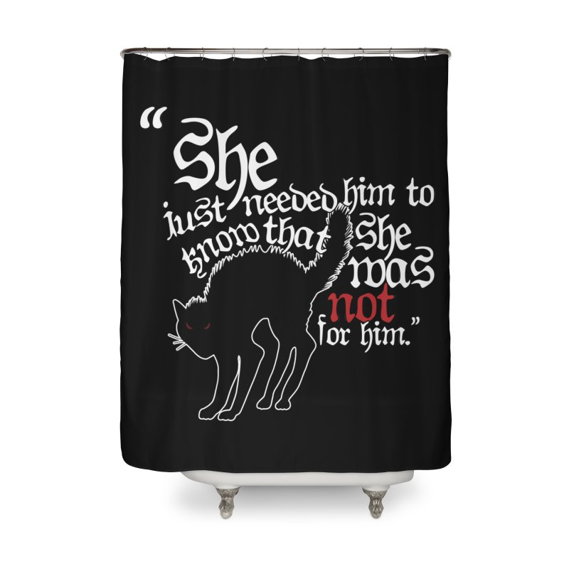 Old Gods of Appalachia: Not For Him Home Shower Curtain by OLD GODS OF APPALACHIA