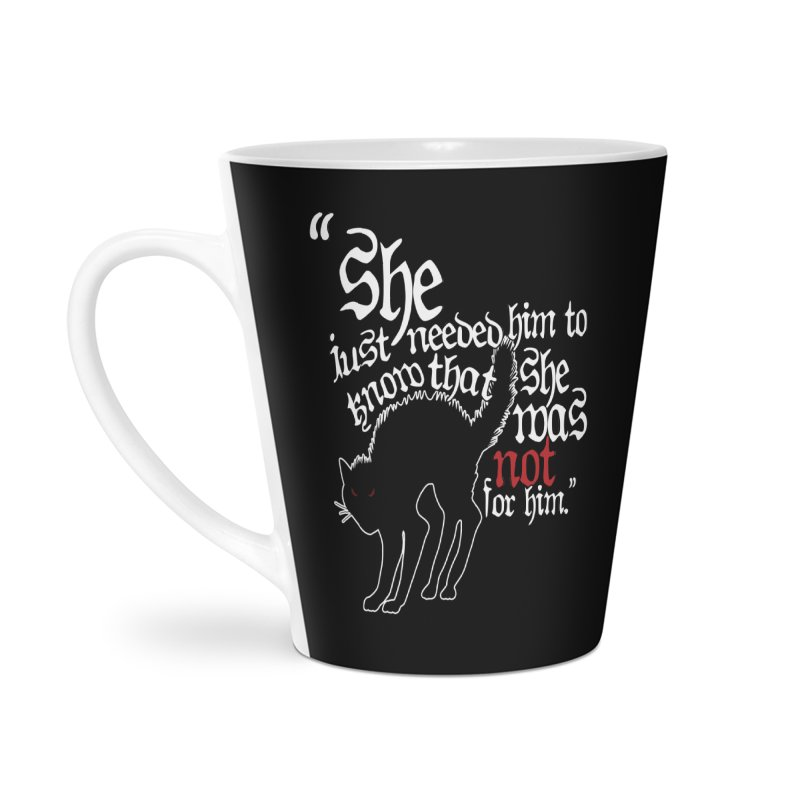 Old Gods of Appalachia: Not For Him Accessories Latte Mug by OLD GODS OF APPALACHIA