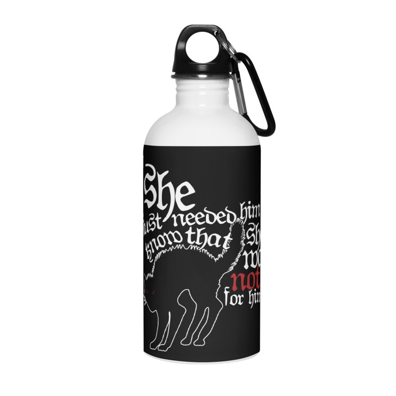 Old Gods of Appalachia: Not For Him Accessories Water Bottle by OLD GODS OF APPALACHIA