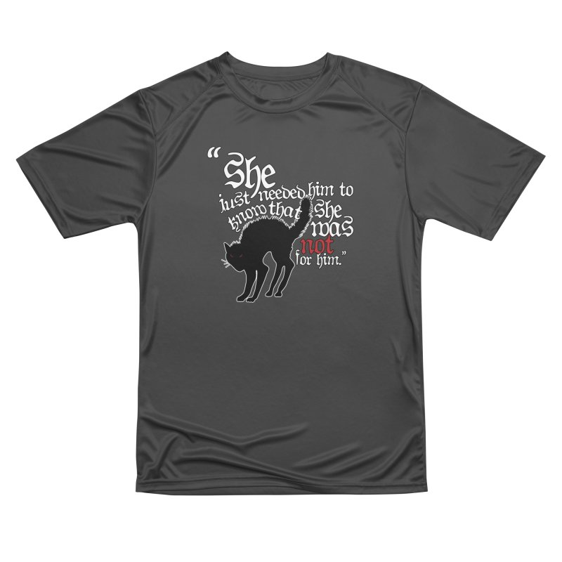 Old Gods of Appalachia: Not For Him Women's Performance Unisex T-Shirt by OLD GODS OF APPALACHIA