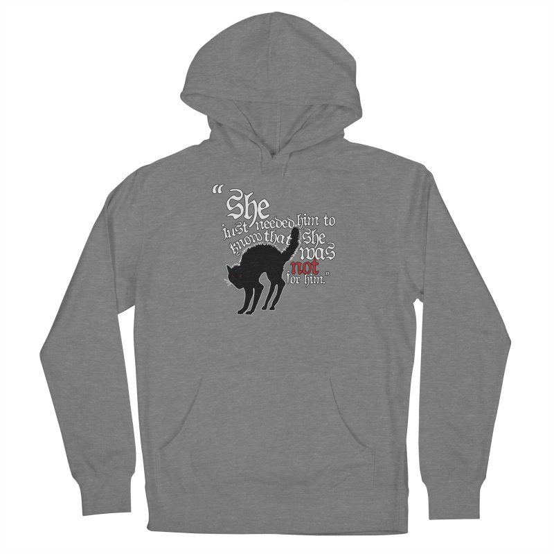Old Gods of Appalachia: Not For Him Women's French Terry Pullover Hoody by OLD GODS OF APPALACHIA