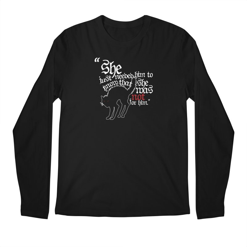 Old Gods of Appalachia: Not For Him Men's Regular Longsleeve T-Shirt by OLD GODS OF APPALACHIA
