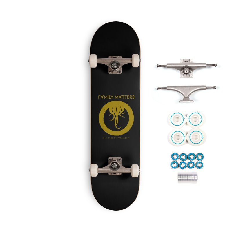 Old Gods of Applachia: Family Matters Accessories Complete - Basic Skateboard by OLD GODS OF APPALACHIA