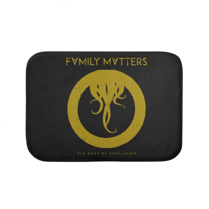 Old Gods of Applachia: Family Matters Home Bath Mat by OLD GODS OF APPALACHIA