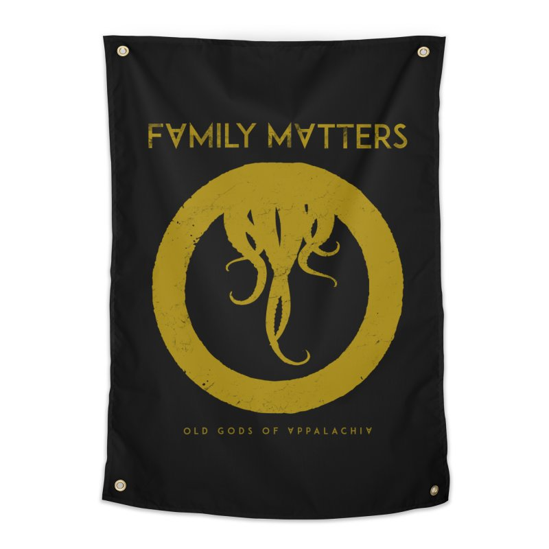 Old Gods of Applachia: Family Matters Home Tapestry by OLD GODS OF APPALACHIA