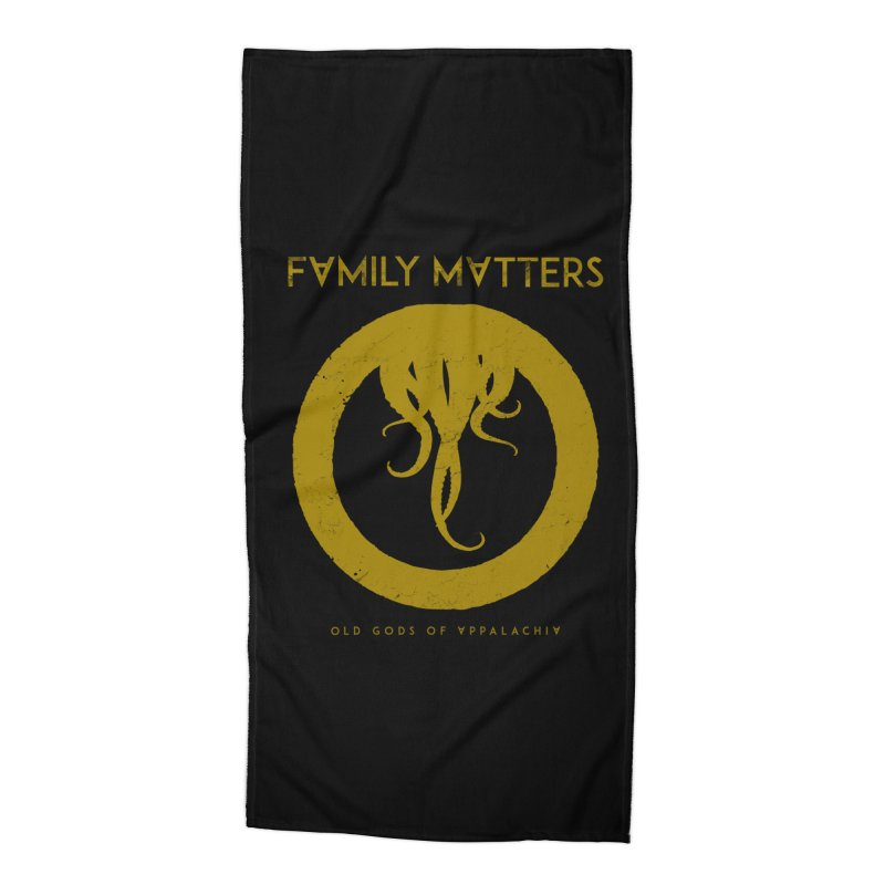 Old Gods of Applachia: Family Matters Accessories Beach Towel by OLD GODS OF APPALACHIA