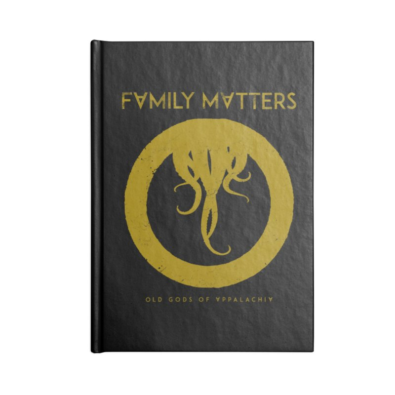 Old Gods of Applachia: Family Matters Accessories Lined Journal Notebook by OLD GODS OF APPALACHIA