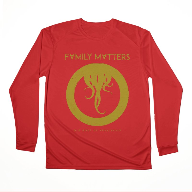 Old Gods of Applachia: Family Matters Men's Performance Longsleeve T-Shirt by OLD GODS OF APPALACHIA