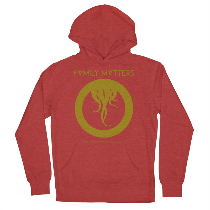Old Gods of Applachia: Family Matters Women's French Terry Pullover Hoody by OLD GODS OF APPALACHIA