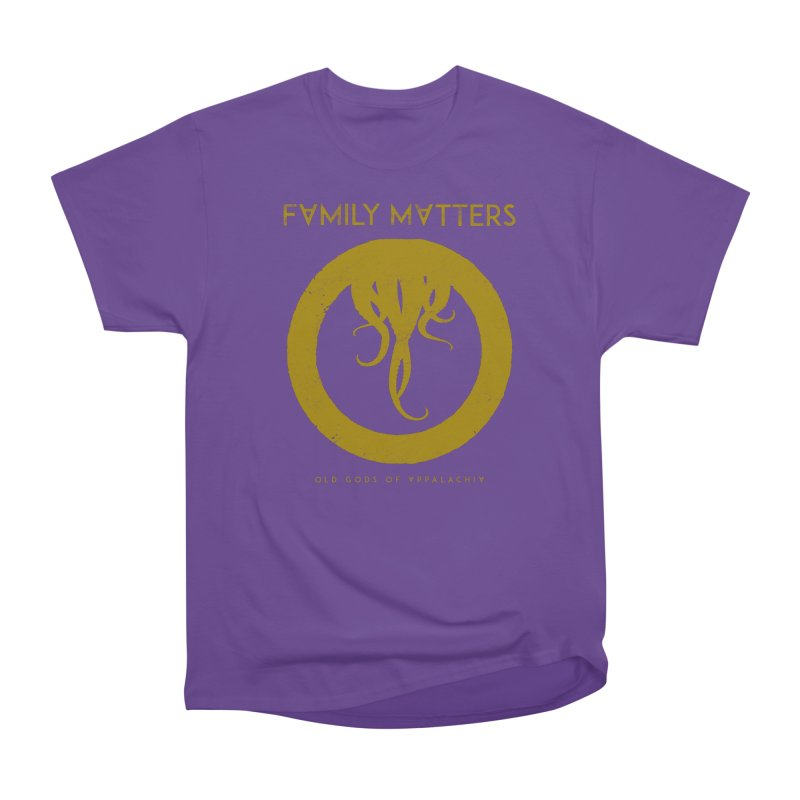 Old Gods of Applachia: Family Matters Women's Heavyweight Unisex T-Shirt by OLD GODS OF APPALACHIA