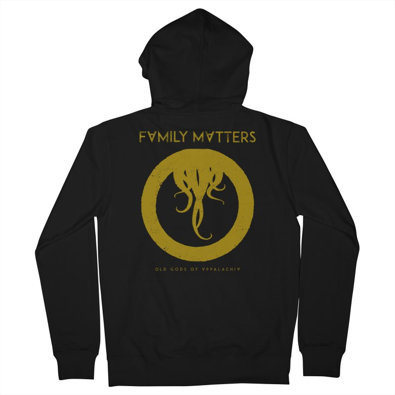 Old Gods of Applachia: Family Matters Women's French Terry Zip-Up Hoody by OLD GODS OF APPALACHIA