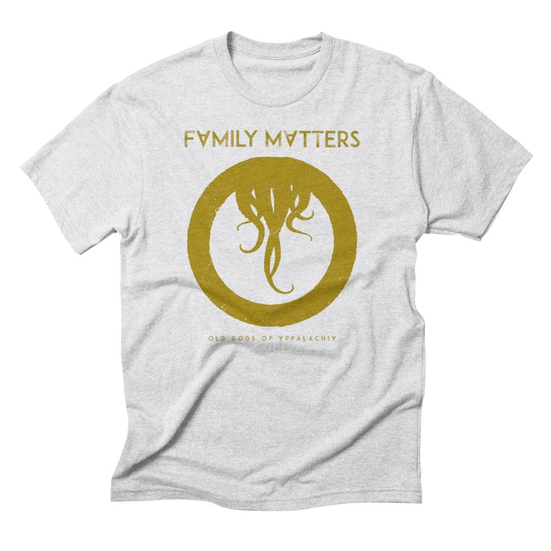 Old Gods of Applachia: Family Matters Men's Triblend T-Shirt by OLD GODS OF APPALACHIA