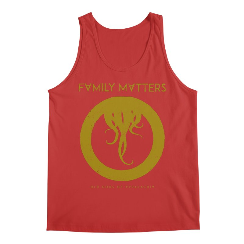 Old Gods of Applachia: Family Matters Men's Regular Tank by OLD GODS OF APPALACHIA