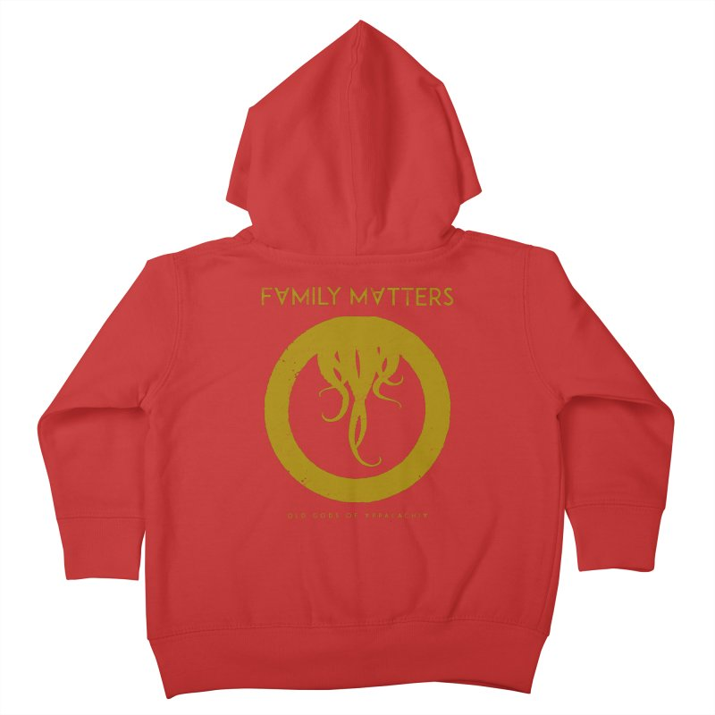 Old Gods of Applachia: Family Matters Kids Toddler Zip-Up Hoody by OLD GODS OF APPALACHIA