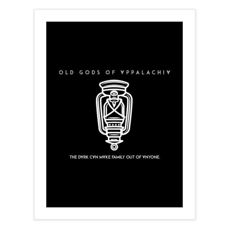 Old Gods of Appalachia: The Boy's Lantern Home Fine Art Print by OLD GODS OF APPALACHIA