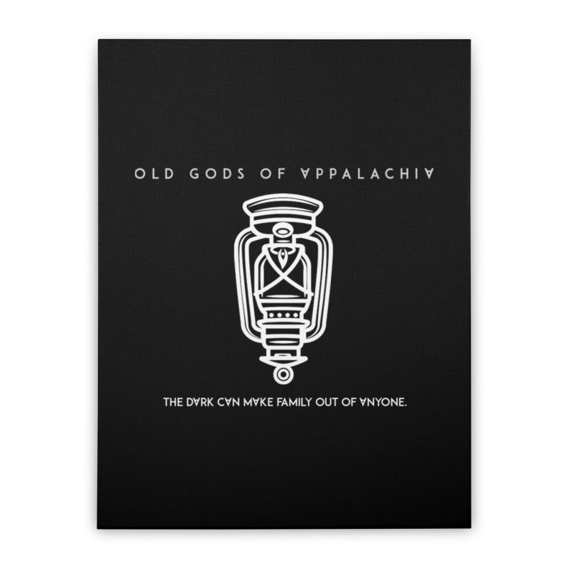 Old Gods of Appalachia: The Boy's Lantern Home Stretched Canvas by OLD GODS OF APPALACHIA