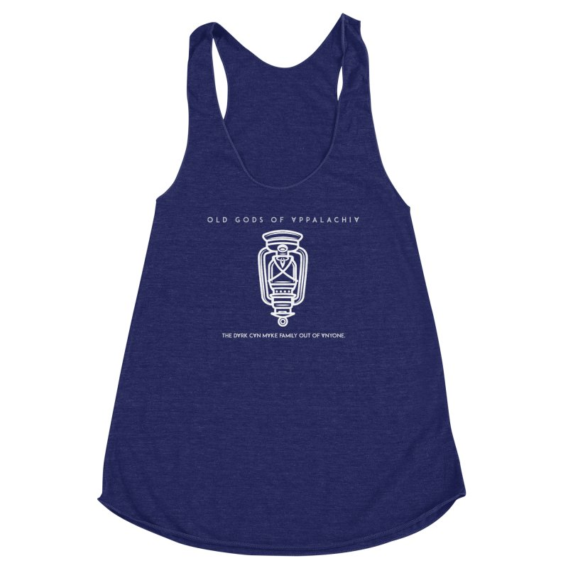 Old Gods of Appalachia: The Boy's Lantern Women's Racerback Triblend Tank by OLD GODS OF APPALACHIA