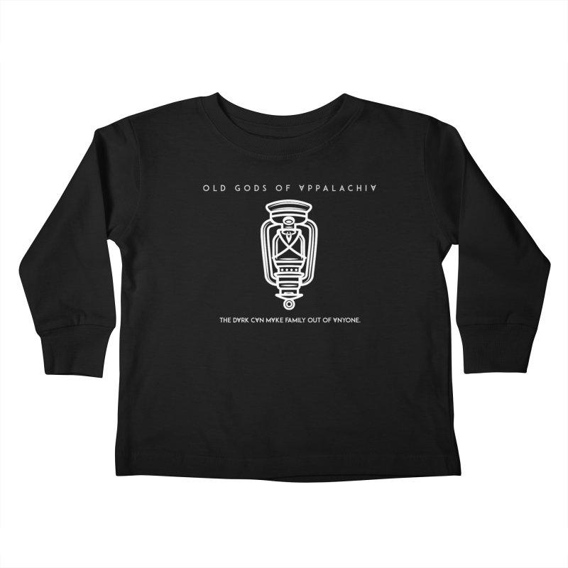 Old Gods of Appalachia: The Boy's Lantern Kids Toddler Longsleeve T-Shirt by OLD GODS OF APPALACHIA