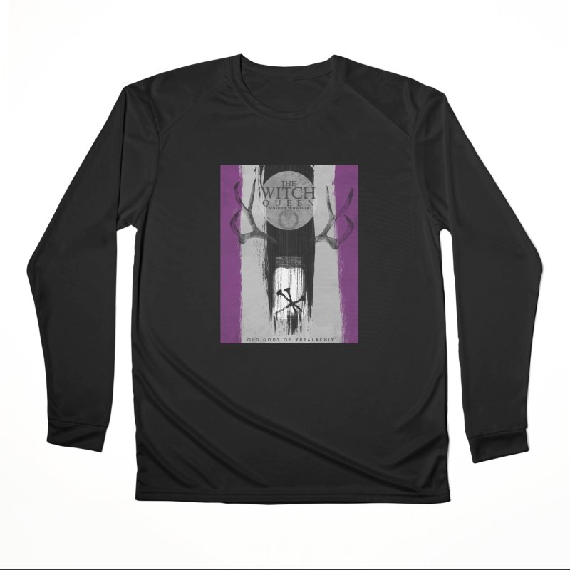 Old Gods of Appalachia: The Witch Queen: Solitude/ACE PRIDE Shirt Women's Performance Unisex Longsleeve T-Shirt by OLD GODS OF APPALACHIA