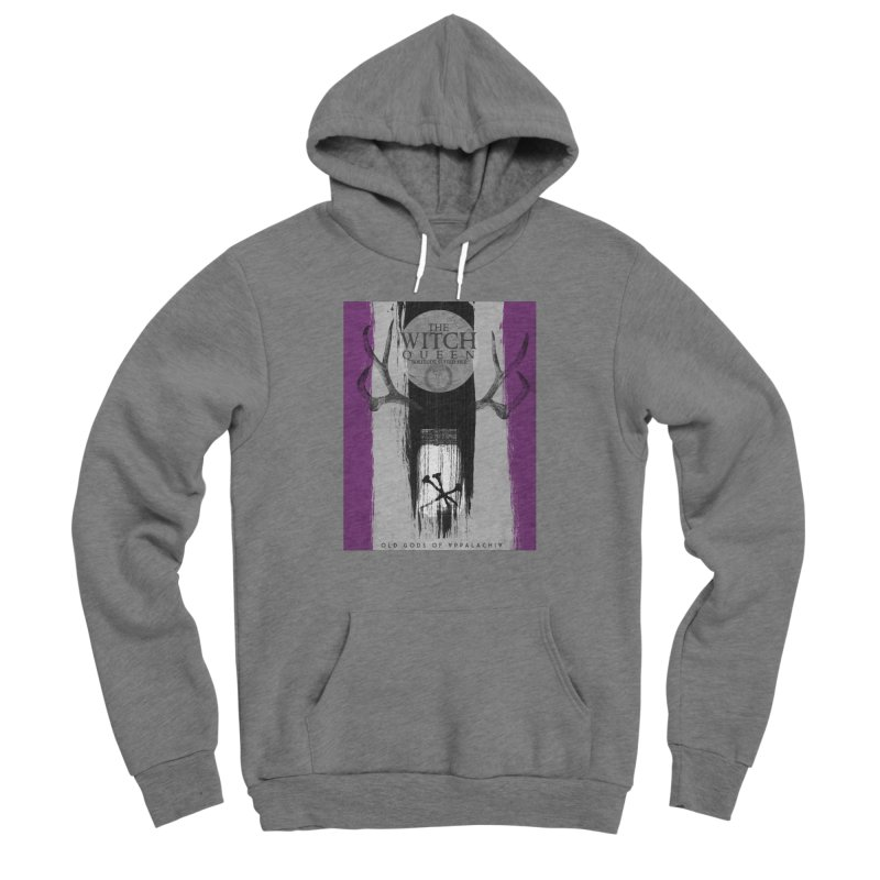 Old Gods of Appalachia: The Witch Queen: Solitude/ACE PRIDE Shirt Women's Sponge Fleece Pullover Hoody by OLD GODS OF APPALACHIA