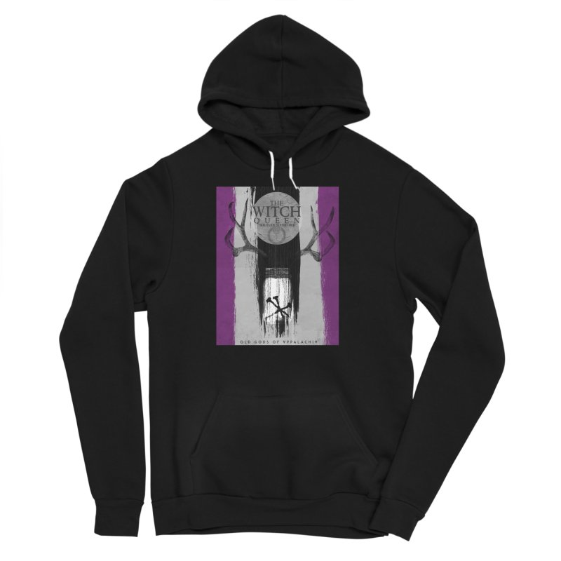 Old Gods of Appalachia: The Witch Queen: Solitude/ACE PRIDE Shirt Men's Sponge Fleece Pullover Hoody by OLD GODS OF APPALACHIA