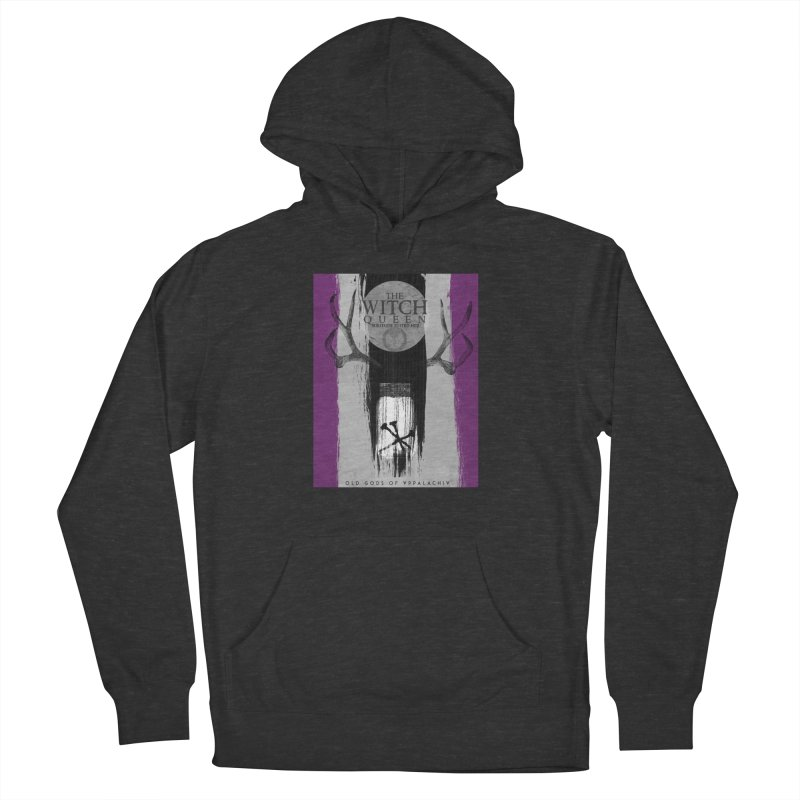 Old Gods of Appalachia: The Witch Queen: Solitude/ACE PRIDE Shirt Men's French Terry Pullover Hoody by OLD GODS OF APPALACHIA