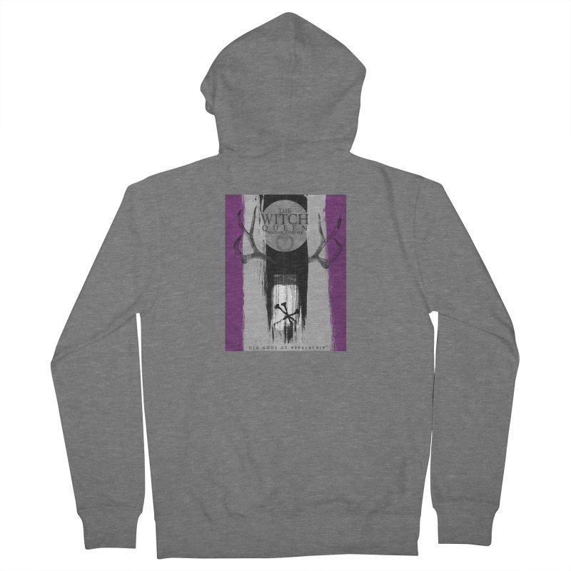 Old Gods of Appalachia: The Witch Queen: Solitude/ACE PRIDE Shirt Men's French Terry Zip-Up Hoody by OLD GODS OF APPALACHIA