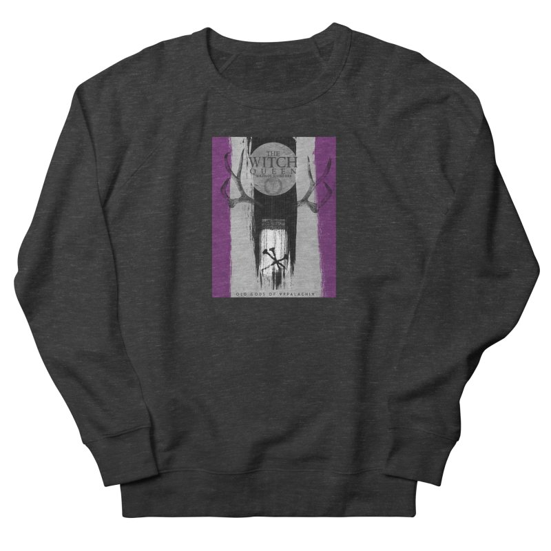 Old Gods of Appalachia: The Witch Queen: Solitude/ACE PRIDE Shirt Men's French Terry Sweatshirt by OLD GODS OF APPALACHIA