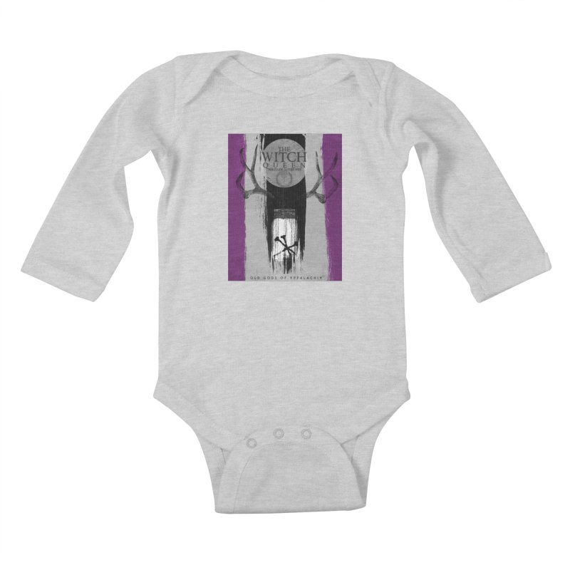 Old Gods of Appalachia: The Witch Queen: Solitude/ACE PRIDE Shirt Kids Baby Longsleeve Bodysuit by OLD GODS OF APPALACHIA
