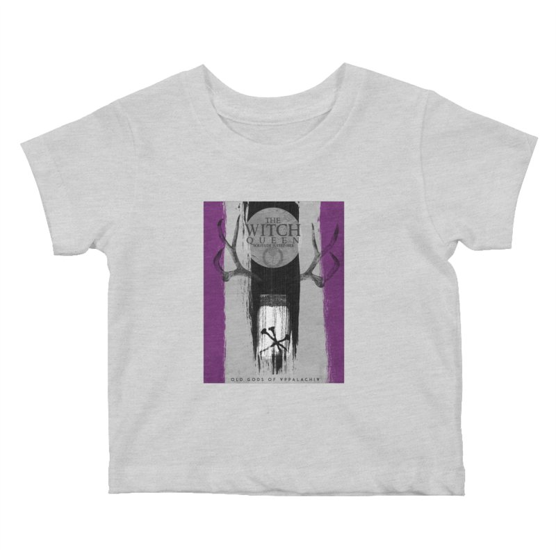 Old Gods of Appalachia: The Witch Queen: Solitude/ACE PRIDE Shirt Kids Baby T-Shirt by OLD GODS OF APPALACHIA