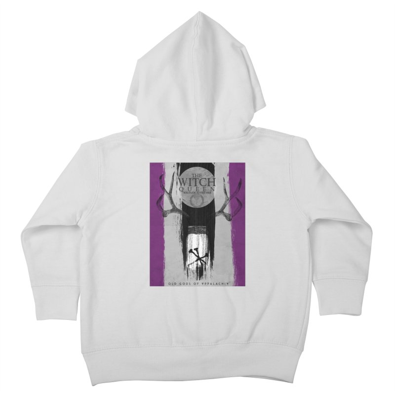 Old Gods of Appalachia: The Witch Queen: Solitude/ACE PRIDE Shirt Kids Toddler Zip-Up Hoody by OLD GODS OF APPALACHIA