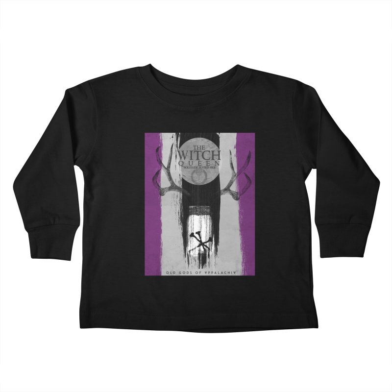 Old Gods of Appalachia: The Witch Queen: Solitude/ACE PRIDE Shirt Kids Toddler Longsleeve T-Shirt by OLD GODS OF APPALACHIA