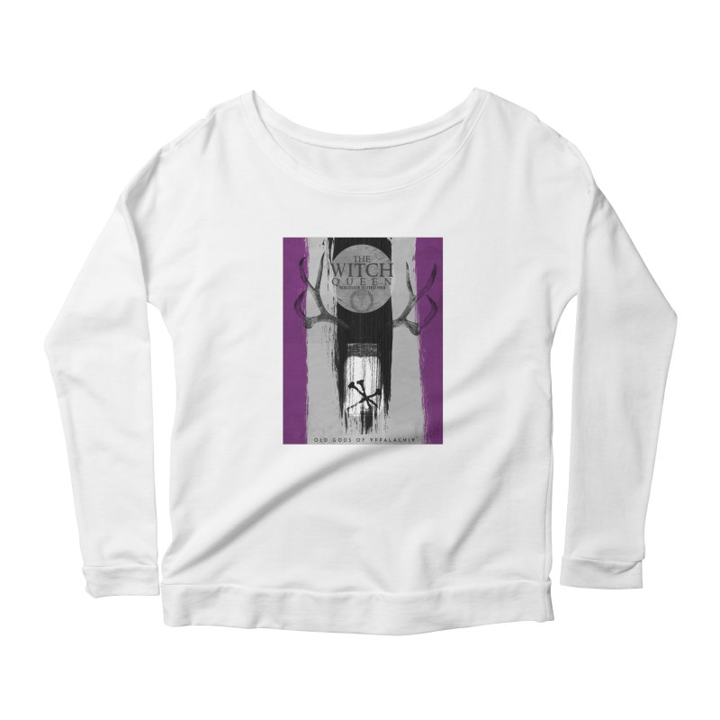Old Gods of Appalachia: The Witch Queen: Solitude/ACE PRIDE Shirt Women's Scoop Neck Longsleeve T-Shirt by OLD GODS OF APPALACHIA
