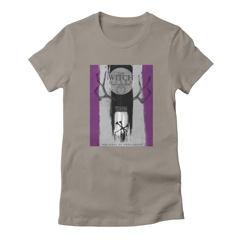 Old Gods of Appalachia: The Witch Queen: Solitude/ACE PRIDE Shirt Women's T-Shirt by OLD GODS OF APPALACHIA