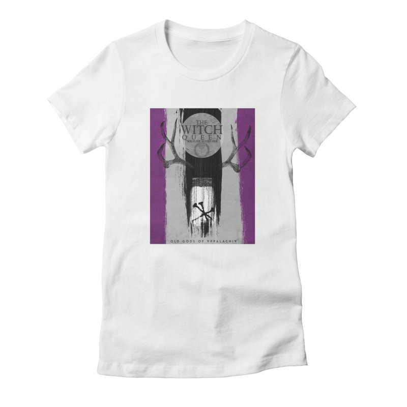 Old Gods of Appalachia: The Witch Queen: Solitude/ACE PRIDE Shirt Women's Fitted T-Shirt by OLD GODS OF APPALACHIA