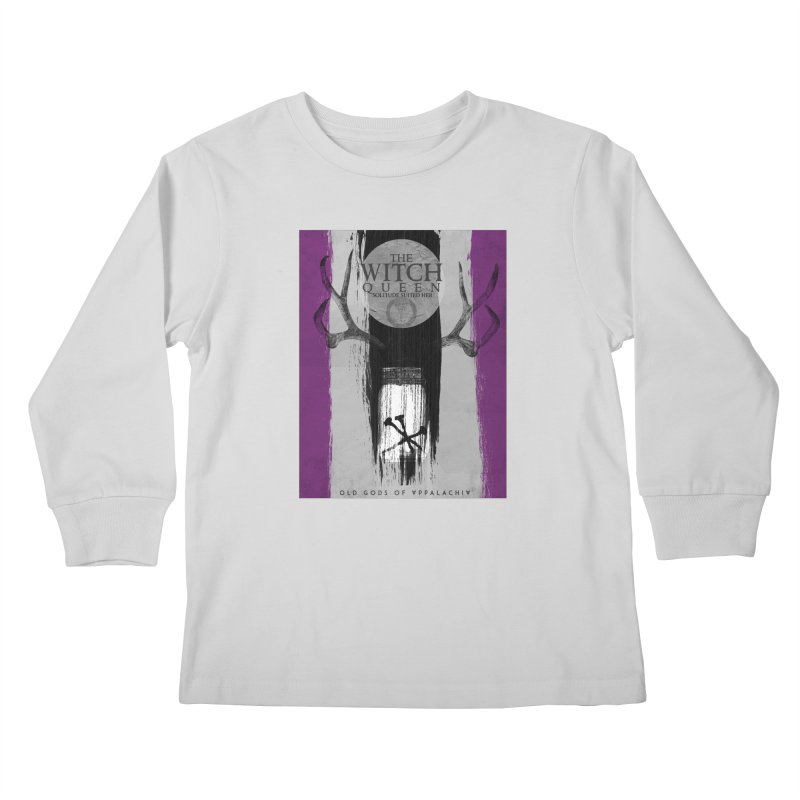 Old Gods of Appalachia: The Witch Queen: Solitude/ACE PRIDE Shirt Kids Longsleeve T-Shirt by OLD GODS OF APPALACHIA