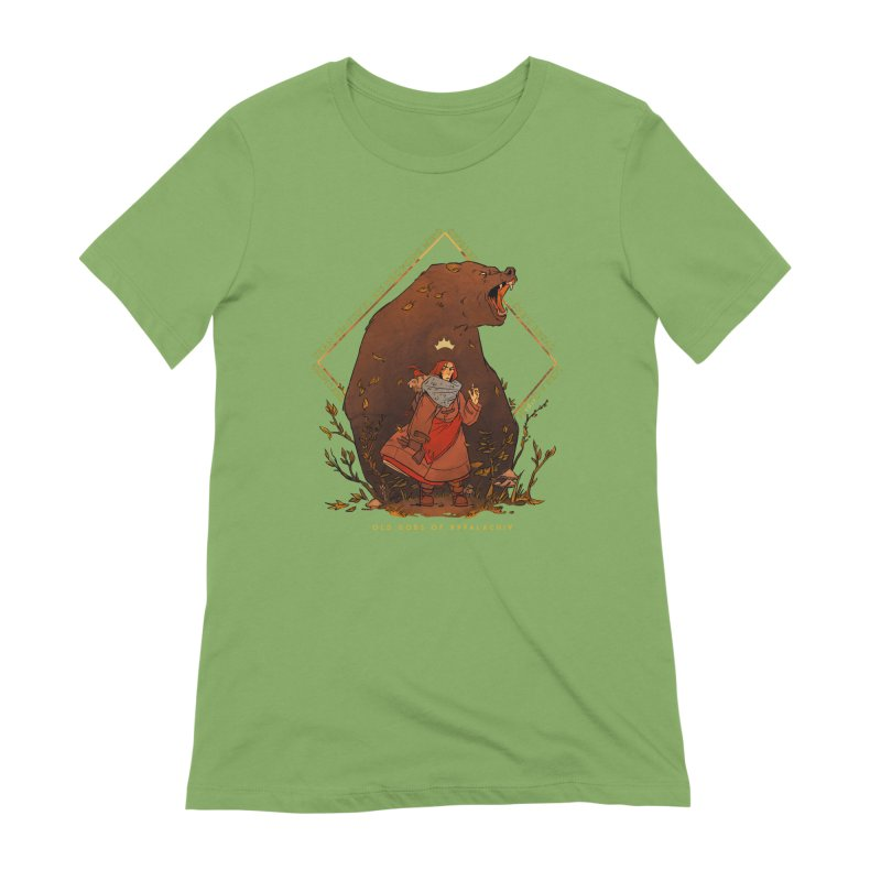 Old Gods of Appalachia: The Witch Queen and Bartholomew Women's Extra Soft T-Shirt by OLD GODS OF APPALACHIA